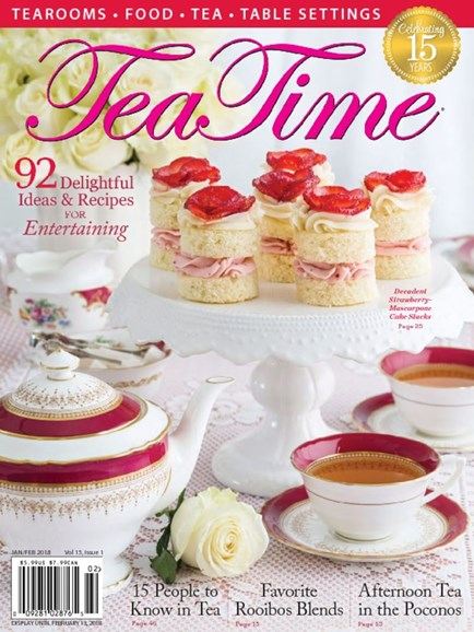 Tea Time Cover - 1/1/2018