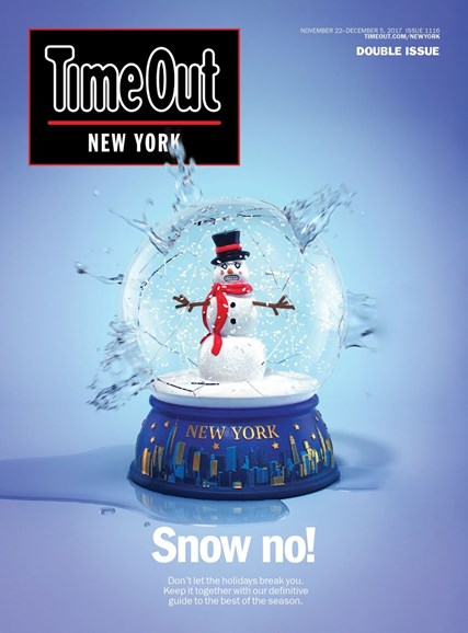 Time Out New York Cover - 11/22/2017