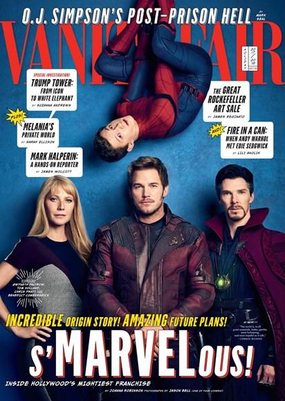 Vanity Fair Cover - 12/25/2017