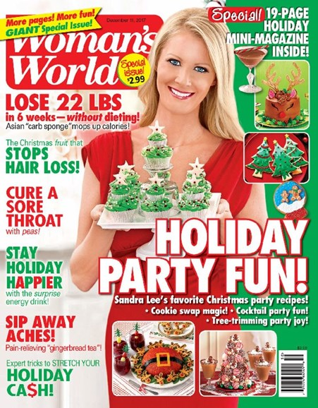 Woman's World Cover - 12/11/2017