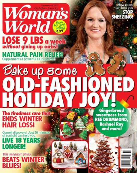 Woman's World Cover - 12/18/2017