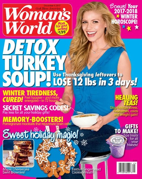 Woman's World Cover - 12/4/2017