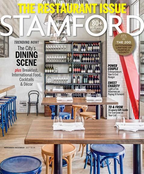Stamford Magazine Cover - 11/1/2017
