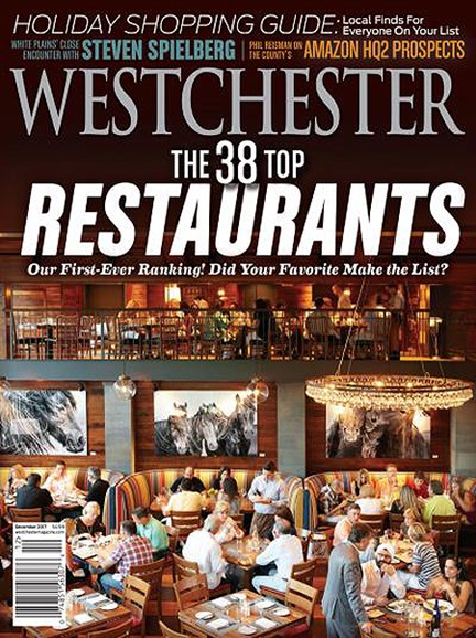 Westchester Magazine Cover - 12/1/2017