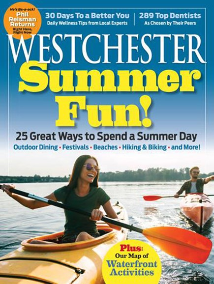 Westchester Magazine Cover - 6/1/2017