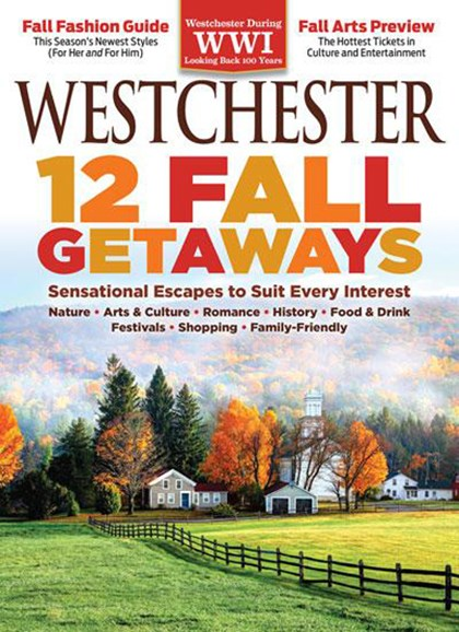 Westchester Magazine Cover - 9/1/2017
