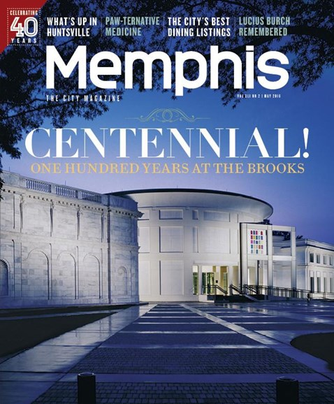 Memphis Cover - 5/1/2016