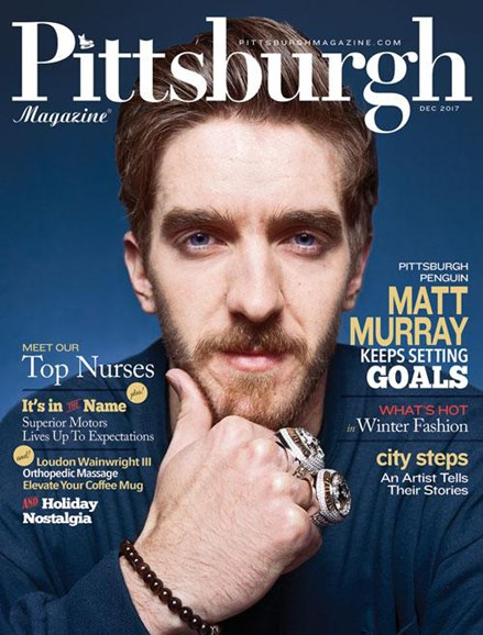 Pittsburgh Magazine Cover - 12/1/2017