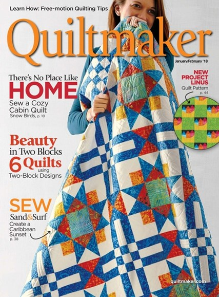 Quiltmaker Cover - 1/1/2018