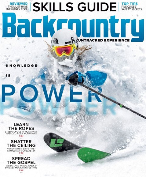Backcountry Cover - 12/1/2017