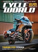 Cycle World Magazine | 1/2018 Cover