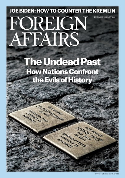 Foreign Affairs Cover - 1/1/2018