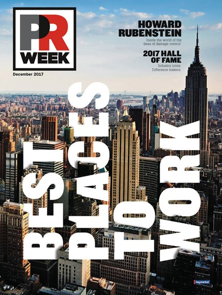 PRWeek Cover - 12/1/2017