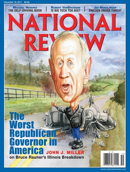 National Review Cover - 12/18/2017