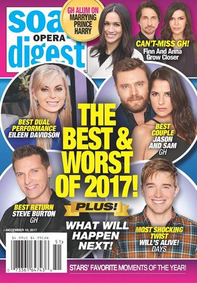 Soap Opera Digest Cover - 12/18/2017