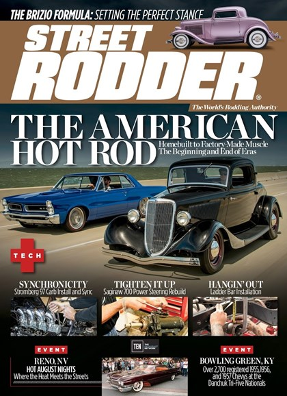 Street Rodder Cover - 2/1/2018