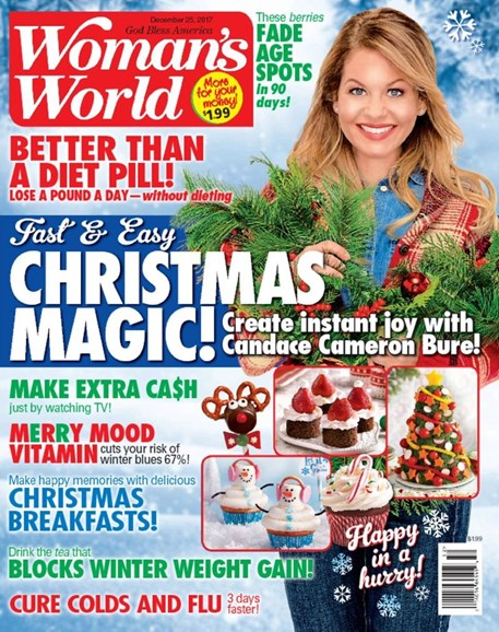 Woman's World Cover - 12/25/2017