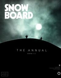 Snowboard Magazine   1/1/2018 Cover