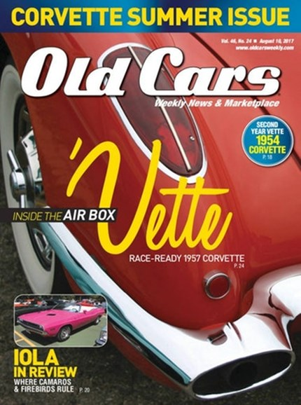Old Cars Cover - 8/16/2017