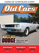 Old Cars Weekly Magazine 7/20/2017