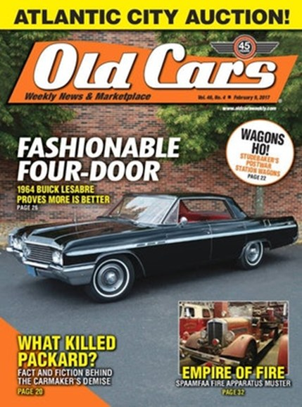 Old Cars Cover - 2/3/2017