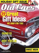 Old Cars Weekly Magazine 11/16/2017