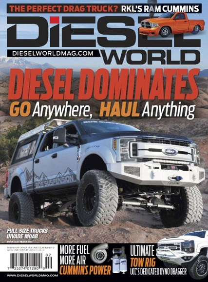 Diesel World Cover - 2/1/2018