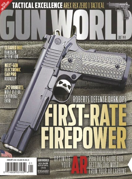 Gun World Cover - 1/1/2018