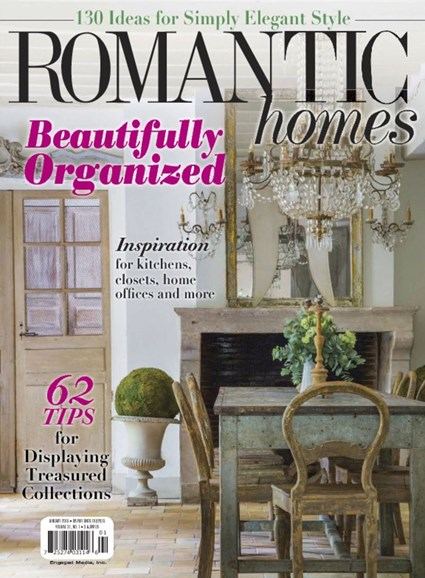 Romantic Homes Cover - 1/1/2018