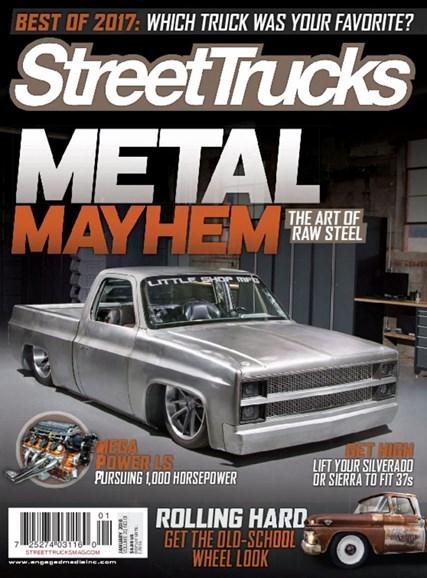 Street Trucks Cover - 1/1/2018