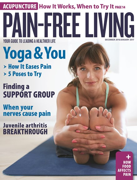 Pain-Free Living Cover - 12/1/2016