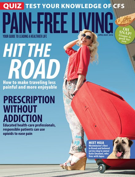 Pain-Free Living Cover - 4/1/2016