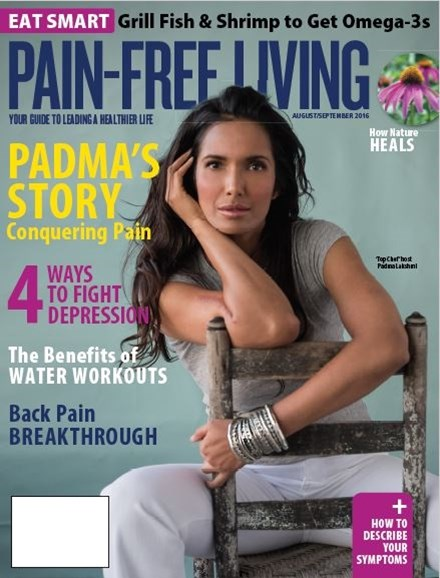 Pain-Free Living Cover - 8/1/2016