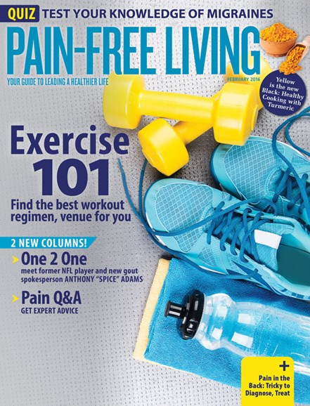 Pain-Free Living Cover - 1/1/2016