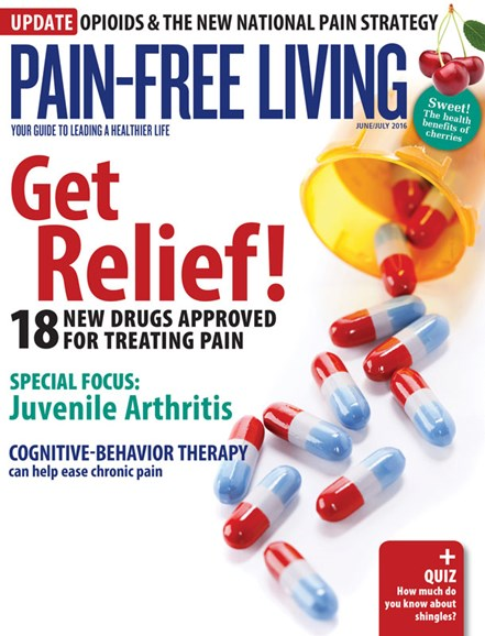 Pain-Free Living Cover - 6/1/2016