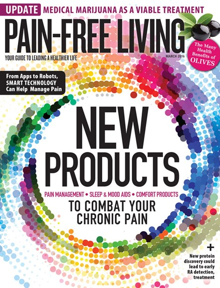 Pain-Free Living Cover - 3/1/2016