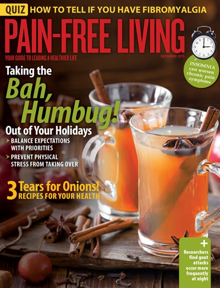 Pain-Free Living Cover - 11/1/2015