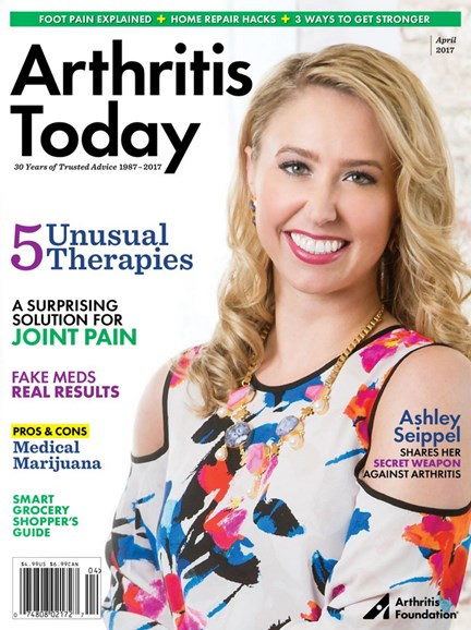 Arthritis Today Cover - 3/1/2017