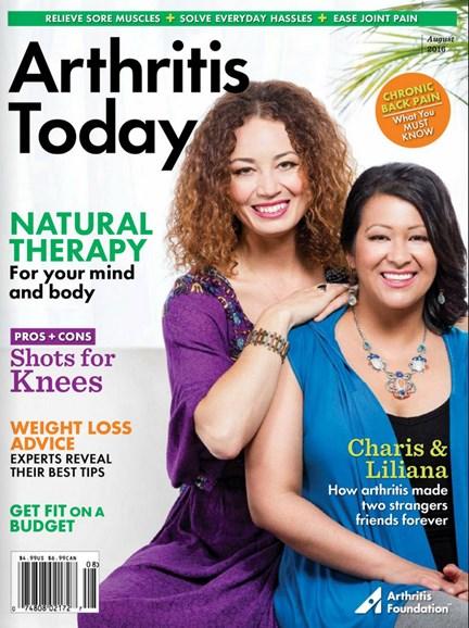 Arthritis Today Cover - 7/1/2016