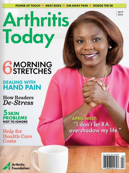 Arthritis Today Cover - 3/1/2016