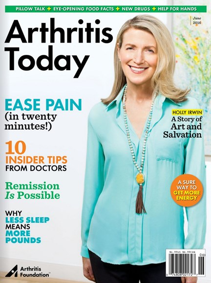 Arthritis Today Cover - 5/1/2016