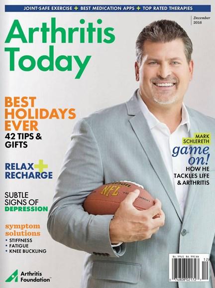 Arthritis Today Cover - 11/1/2016
