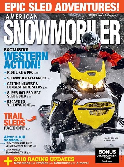 American Snowmobiler Cover - 1/1/2018
