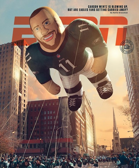 ESPN The Magazine Cover - 12/4/2017