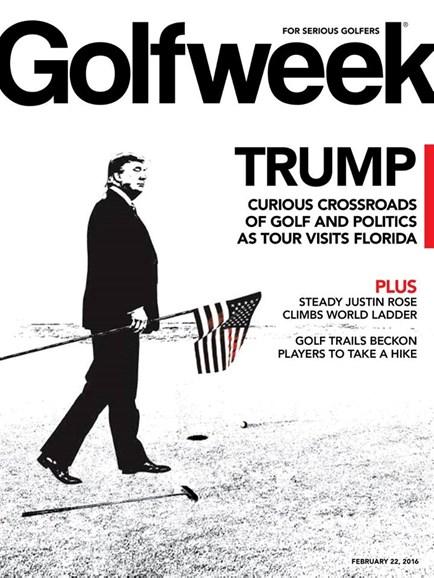 Golfweek Cover - 2/22/2016