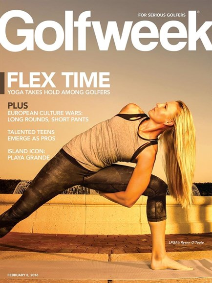 Golfweek Cover - 2/8/2016