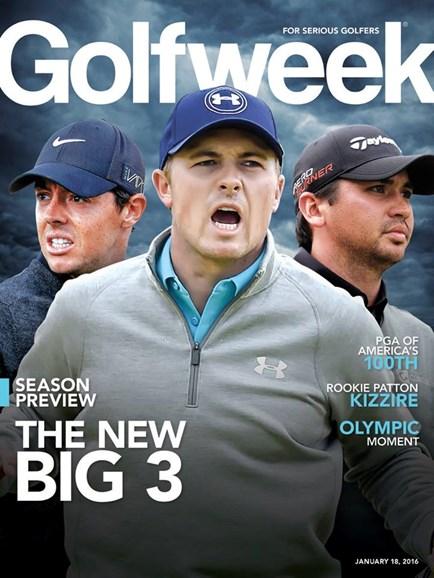 Golfweek Cover - 1/18/2016