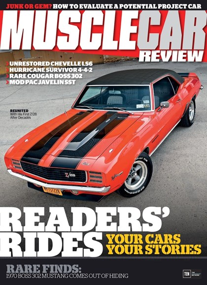 Muscle Car Review Cover - 1/1/2018