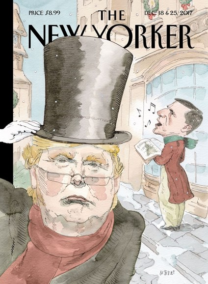 The New Yorker Cover - 12/18/2017