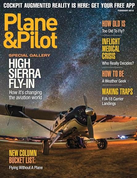 Plane & Pilot Cover - 1/1/2018